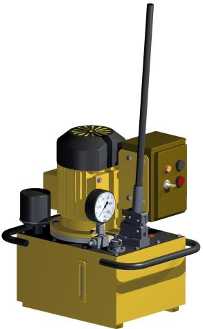 Гидропривод комплектный монтажный ELMO-ГМ 17х8%2F35