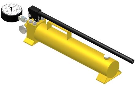 Гидропривод комплектный монтажный ELMO-ГМ 17х4%2F35